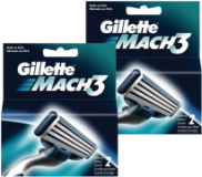 Carga Gillette Mach 3 Exceto Sensitive C/2