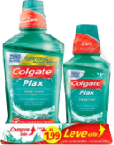 Enxaguante Bucal Colgate Kit 500ml Plax + 250ml