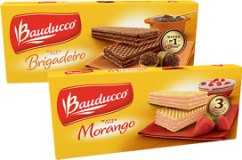 Wafer Bauducco 104/ 117/ 140g