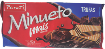 Wafer Minueto Mais 100g