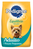 Racao Pedigree Equilíbrio Natural 1kg