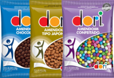 Amendoim Dori Chocolate 500g