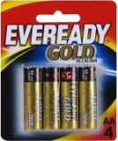 Pilha Eveready Gold Alcal